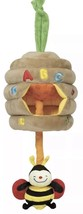 Melissa and Doug K's Kids Musical Pull Beehive Plush Musical Toy Bee Hiv... - $17.81