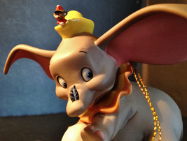 When I See an Elephant Fly Disney's Dumbo & Timothy Mouse Christmas Orna... - $65.00