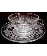 Unused Princess House FANTASIA Cups & Saucers Excellent - $9.99