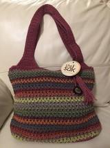 NWT WOMENS The Sak Crochet Knit Material Multi ... - $24.96