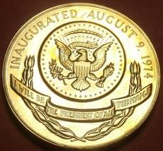 Gem Unc Gerald R. Ford Presidential Bronze Inauguration Medallion~Free S... - $8.90