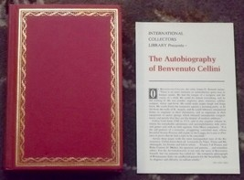 The Autobiography of Benvenuto Cellini International Collectors Library ... - $4.00