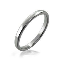 2mm Tungsten Ring Wedding Band Comfort Fit Poli... - $22.95