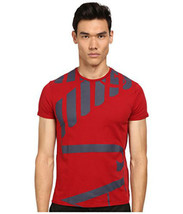 Armani Jeans Abstract Side Logo Tee- Men's - $35.00