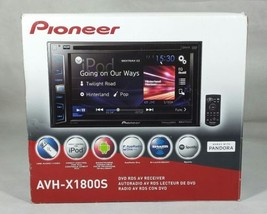"Pioneer AVH-X1800S 2-DIN Multimedia Receiver 6.2"" Touchscreen  - $209.44"