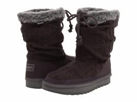 Skechers Womens Keepsakes Blur Charcoal Sweater Knit Casual Winter Boots... - £26.32 GBP