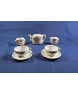 Lot 7 Pieces of Made in Japan Doll China Dollhouse Tea Set - $6.79