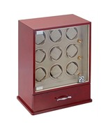 Diplomat Estate Collection Nine (9) Watch Winders w/ Storage for 10 Watches - $692.99