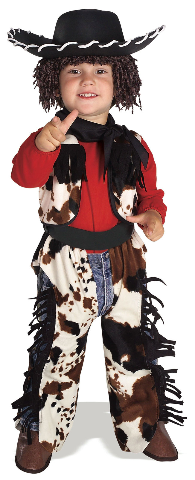 Primary image for Size 1-2 Years Toddlers Cowboy Halloween Costume