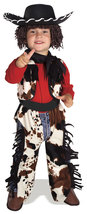 Size 1-2 Years Toddlers Cowboy Halloween Costume  - $30.00