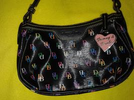 Dooney & Bourke Black Trim Rainbow Designer Bag... - $27.70
