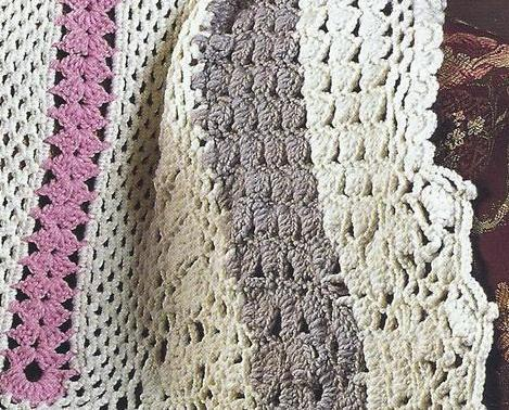 Crochet Oval Afghan Pattern : RARE~Oval Afghan Crochet Pattern~Annies Quilt & Afghan ...