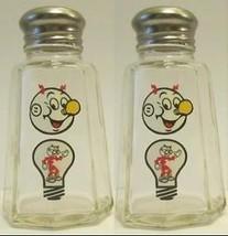 Nice Set of Reddy Kilowatt Salt & Pepper Shaker... - $7.00