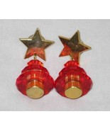 "NEAT 2"" Red CHRISTMAS TREE Earrings - $16.39"