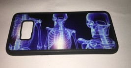 Cool Skeleton Skulls Compatible with Samsung Galaxy 8 Rubber Protection ... - $15.93