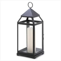 6 LARGE CONTEMPORARY CANDLE LANTERN Wedding Centerpieces - $164.85
