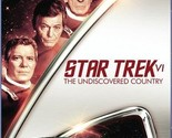 Star Trek VI: The Undiscovered Country (Blu-ray Disc) Star Trek 6 Movie Sci-Fi