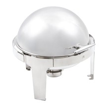 Olympia Paris Roll Top Chafing Dish Round Comme... - $279.91