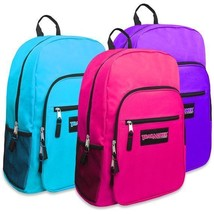 """Trailmaker Girls Backpack Deluxe 19"""" Large Variety Of Colors New With Tags - $12.95+"""