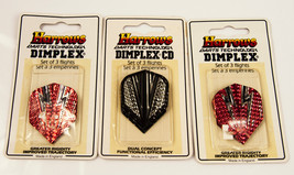 New Old Stock Lot of 3 packages (3 flights per package) Harrows Dart Fli... - $8.86