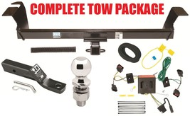 2008-2010 Dodge Grand Cravan Complete Trailer Hitch Receiver Tow Package ~ New - $228.17