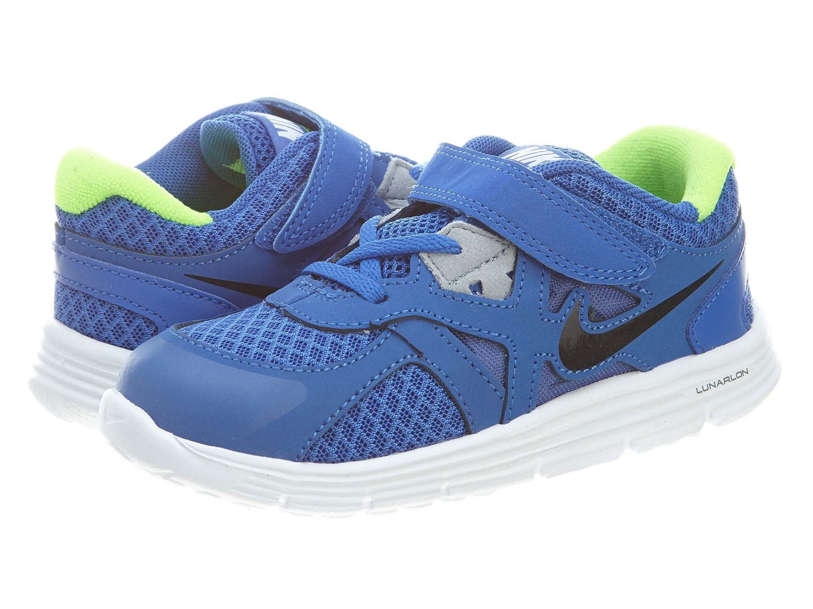 New Nike Lunarglide 3 Blue/White Baby Boys 4.5