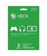 MICROSOFT XBOX 360 LIVE GOLD MEMBERSHIP - FAST ... - $31.63