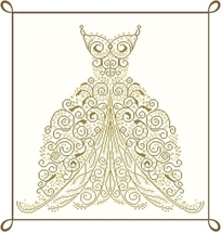 Sogno (dream) cross stitch chart Alessandra Adelaide Needleworks - $16.75