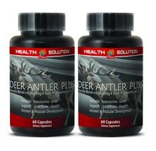 Muscle Supplements - Deer Antler Plus 550mg - O... - $32.68