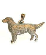 Golden Retriever Pendant Dog Harris Fine Pewter Made in USA jewelry - $10.99