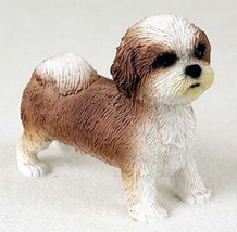 SHIH TZU (Tan White Puppy Sport Cut) DOG Figuri... - $16.74