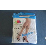 Panty Hose Fruit of the Loom Queen Ultra Sheer ... - $6.92