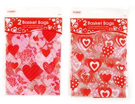 Valentine Basket Bags (2 piece), Lot of 96 - $198.91