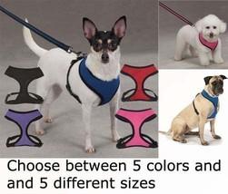 Breathable Soft Mesh Dog Harness Comfortable Vest No Choke Pet Harnesses - $9.69+