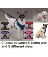 Breathable Soft Mesh Dog Harness Comfortable Vest No Choke Pet Harnesses - $9.69+