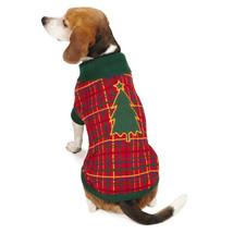 Dog Sweater Holly Days Pet Sweater Christmas Tree Holiday Xmas XXS-XL Clothing - $22.99