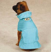 DOG RAIN COAT JACKET PET WATERPROOF RAINCOAT HOOT & HOWL OWL STOWAWAY - $16.95+