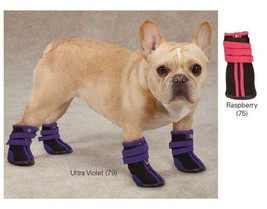 High Top Neoprene Dog Boot Brites Boots Snow Booties Paw Protection Winter - $18.50+