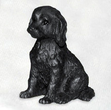 LABRADOODLE BLACK TINY ONES DOG Figurine Statue Pet Lovers Gift Resin - $8.99