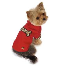 M. Isaac Mizrahi Leopard Camp Shirts for Dogs Pet Dog Shirt Top Red Clot... - $20.99+