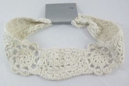 One New Crochet Style Light Tan Knit Headband NWT #H2040 - €3,50 EUR