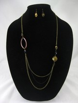 One Dozen New Wholesale Necklace & Earring Sets #N2503-12 - $6.44