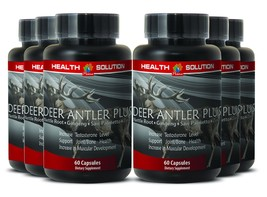 Immune Support Capsules - Deer Antler Plus 550mg - Elk Antler Extract 6B - $84.11