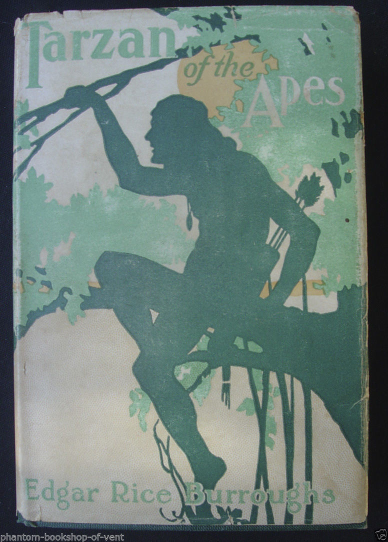 1915 TARZAN OF THE APES in original dust jacket - Edgar Rice Burroughs