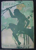Edgar Rice Burroughs TARZAN OF THE APES 1915 co... - $1,336.50