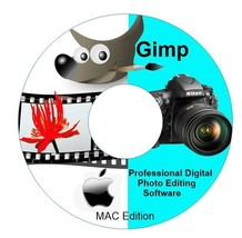 2015 Professional Photo Image Editing Software-GIMP-with Photoshop Guide... - $6.68