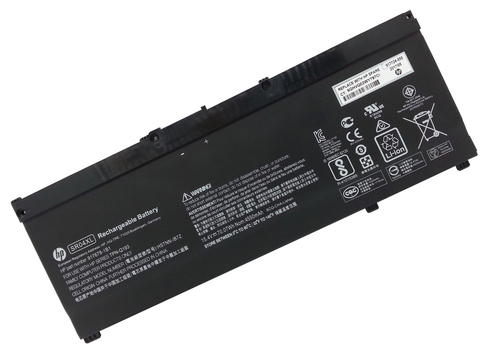 Primary image for Genuine HP Omen 15-ce002ng 15-ce002ni 15-ce002nia 15-ce002nk 15-ce002nl Battery