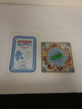 1996 Arthur Goes to the Library Board Game - Parts Instruction and Spinn... - $7.50