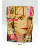 Elle Magazine February 2001 Madonna Cover 150 Fresh Spring Looks - $24.18