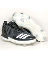Adidas Boost Icon 3 Metal Baseball Cleats Knit Black White DB1793 Men Si... - $40.00
